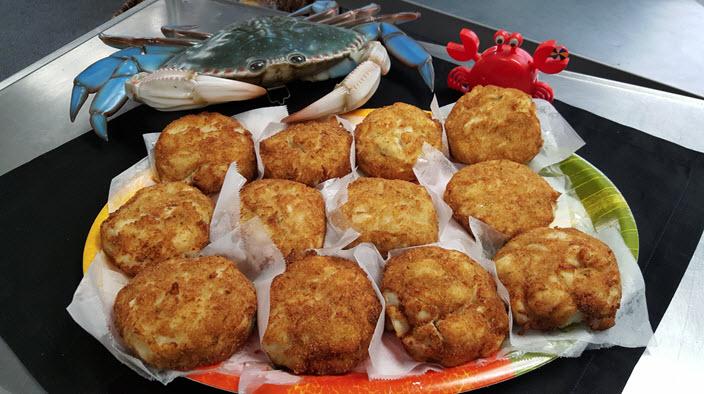 Famous mega Crab Cakes